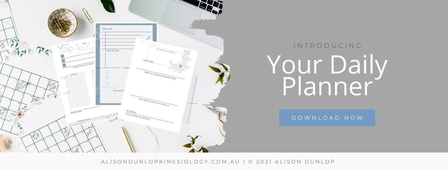 Subscribe for a free daily planner.